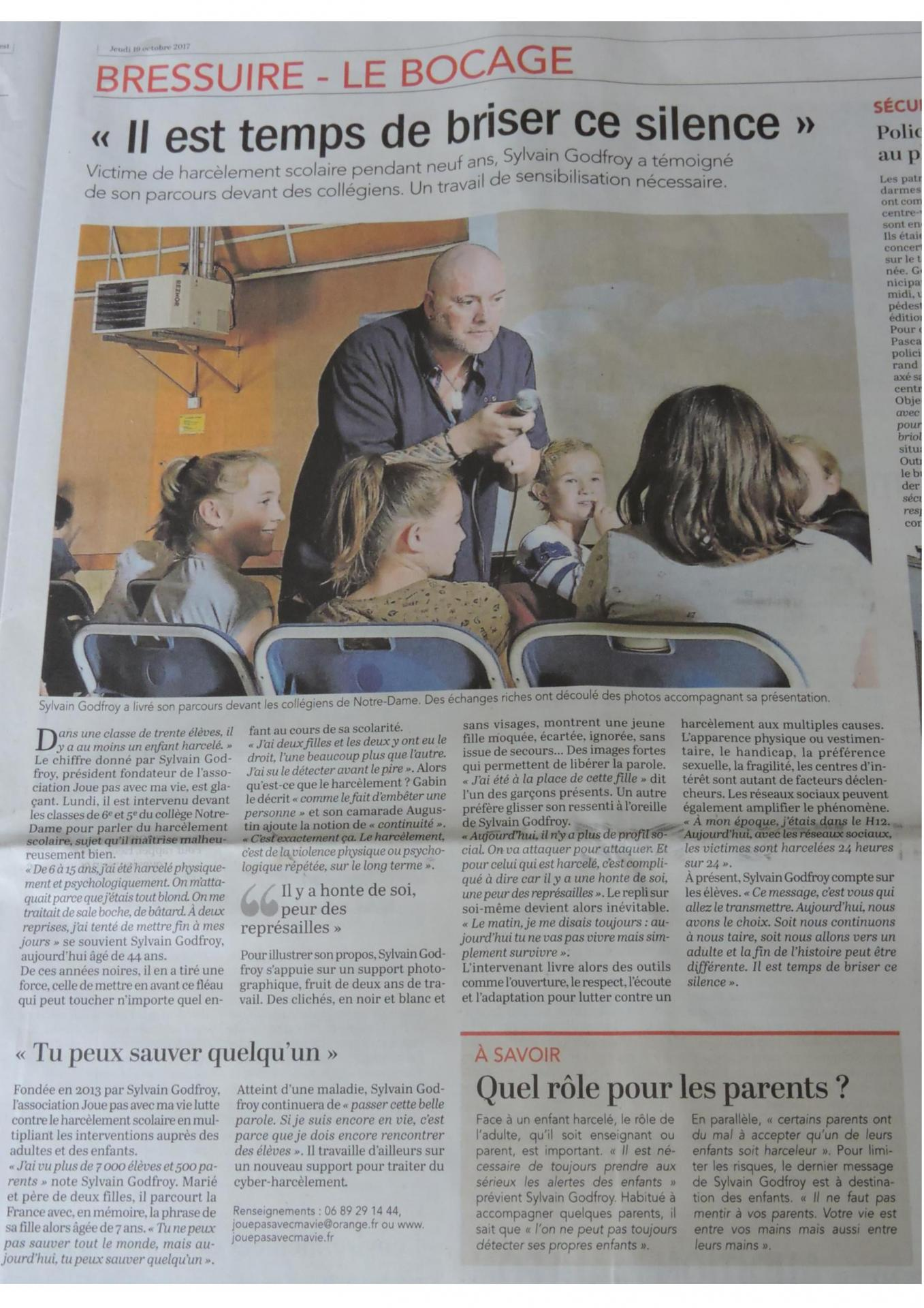 Article bressuire page 001