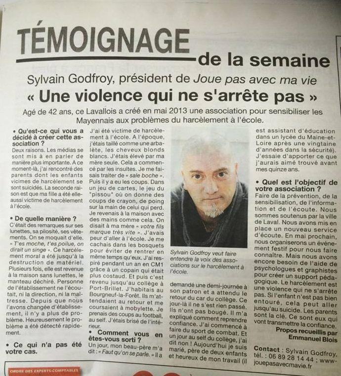 Temoignage presse 12 fevrier 2015